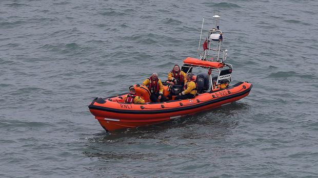 The RNLI has extended the search area for Mr Ryan's son