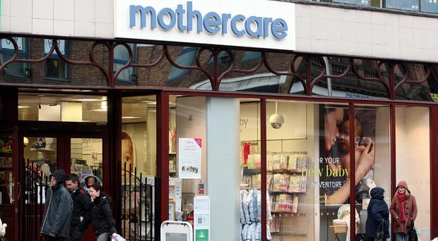 Mothercare Ireland has 18 stores and 275 employees