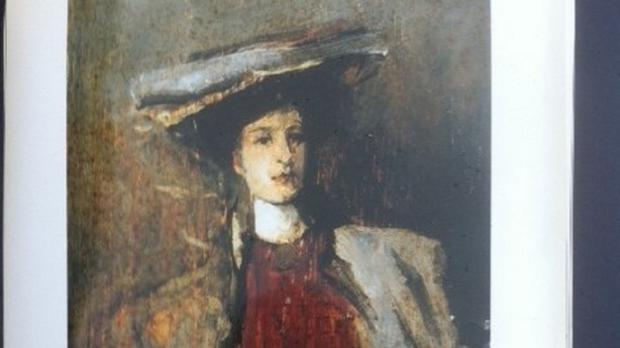 Portrait of a Lady by Sir John Lavery was among the valuable artworks stolen from a home in Donard, Co Wicklow, last October