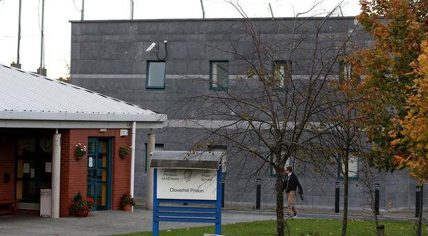 More than 50 prisoners are staging a protest at Cloverhill jail