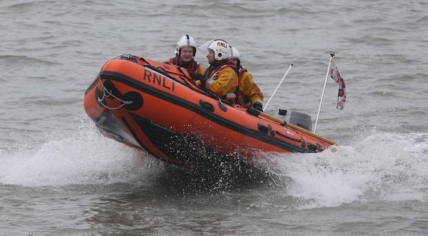 The Dun Laoghaire lifeboat (file/Niall Carson/PA Wire)