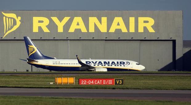 Ryanair also announced that it intends to return €398m (£293m) in proceeds from the sale of its near-30% stake in Aer Lingus to shareholders before the end of the calendar year