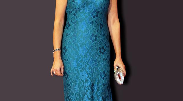 Miriam OCallaghan making an impact at the Irish Film and Television Awards