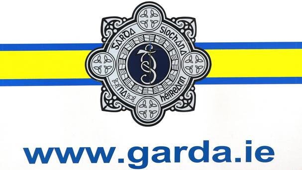Gardai said the officer was not seriously injured