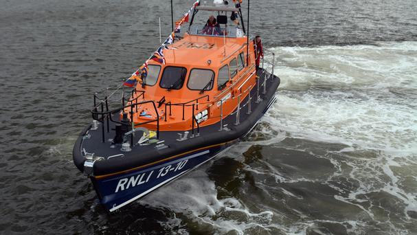 The RNLI were involved in the search