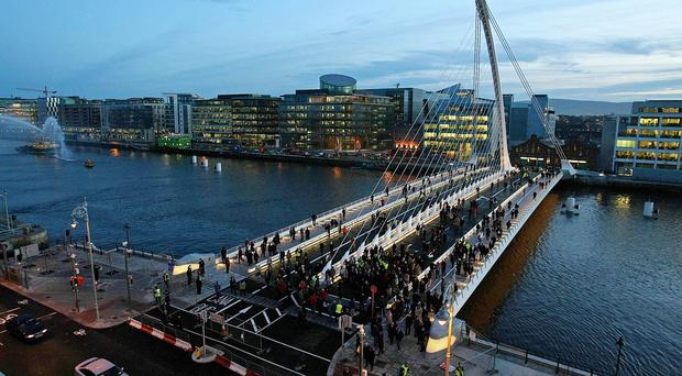 Dublin's city centre came second from bottom of a cleanliness list