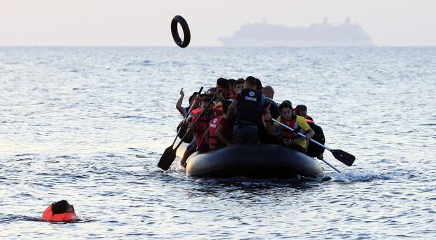 Justice Minister Frances Fitzgerald said the refugee situation was