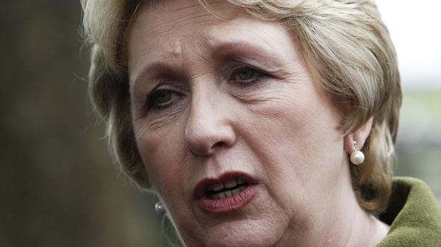 Mary McAleese said people in Ireland, Britain and across Europe are eager to help those in need
