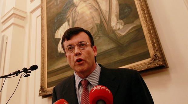 The late Brian Lenihan was finance minister during the banking crisis