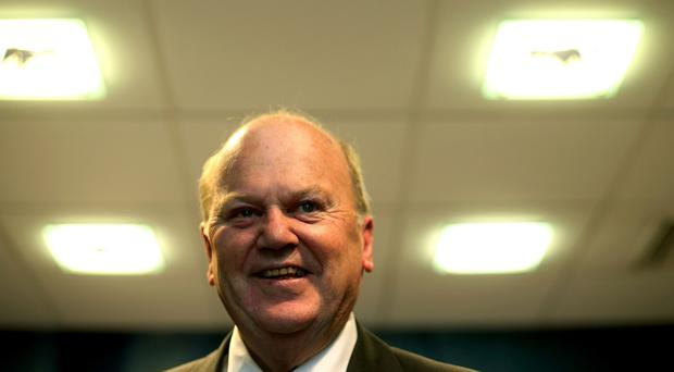 Minister for Finance Michael Noonan hailed the strong economic growth
