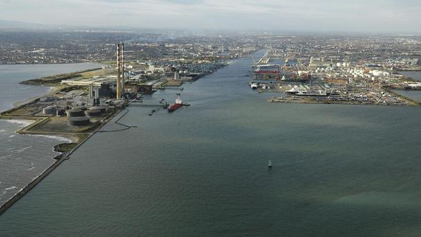 Cocaine was discovered in a haulage vehicle at Dublin port