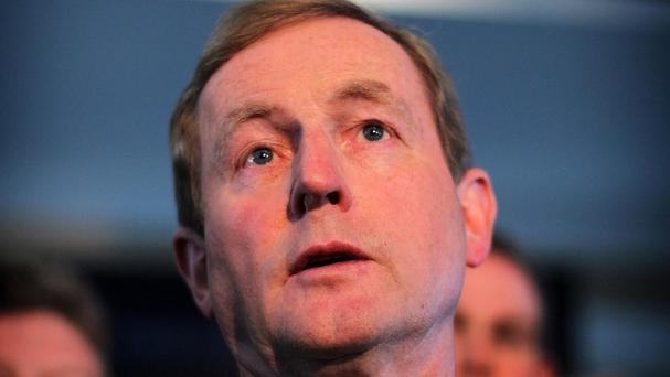 Taoiseach Enda Kenny said the Irish people would be able to make a choice