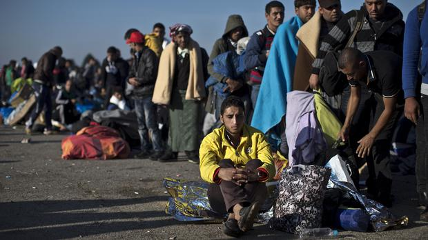 Goal chief executive Barry Andrews warned that the European migrant crisis was likely to get worse (AP)
