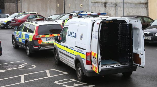 Officers from the Garda Drugs and Organised Crime Unit stopped two cars in the Blanchardstown area on Saturday, and then conducted a follow-up raid