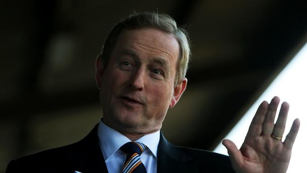 Enda Kenny called for talks to resolve the safety problems which could see families evicted