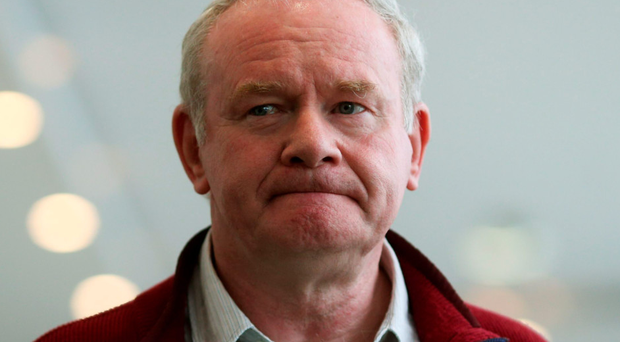 Martin McGuinness is understood to have sat in on a conference call when Project Eagle was discussed
