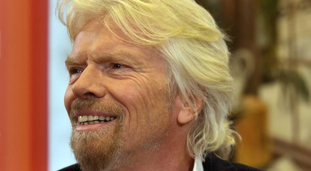 Sir Richard Branson was unimpressed by suggestions that British rail services should be re-nationalised