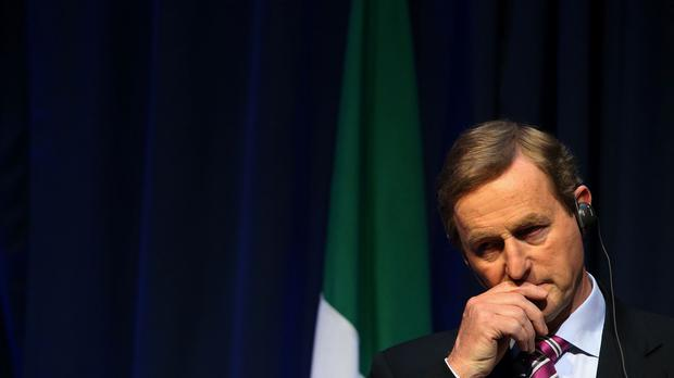 Enda Kenny told an audience in Madrid about a briefing he said he received