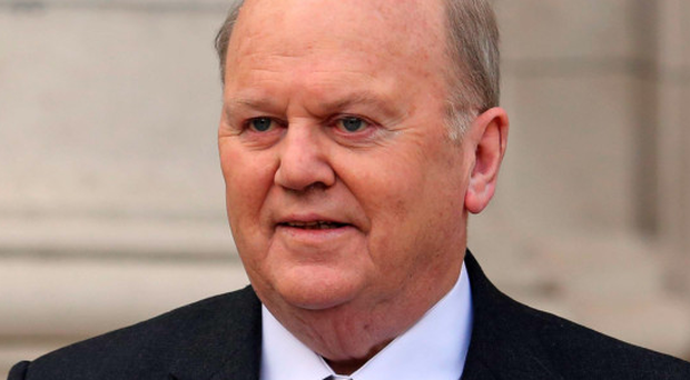 Republic of Ireland's finance minister Michael Noonan