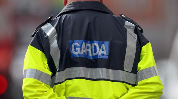 Uniformed and plain clothes gardai are at an address in Dublin's south side