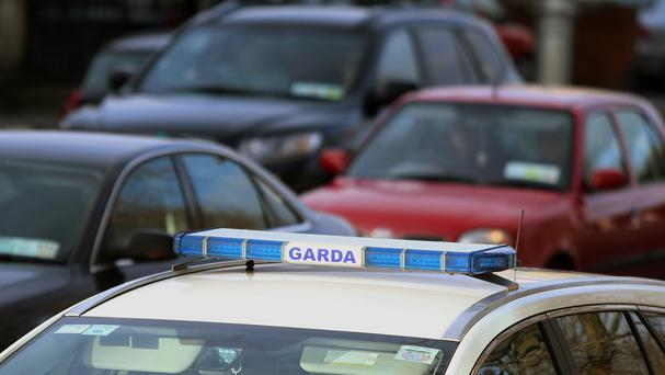 Two men have been arrested after the operation in Tallaght, Dublin