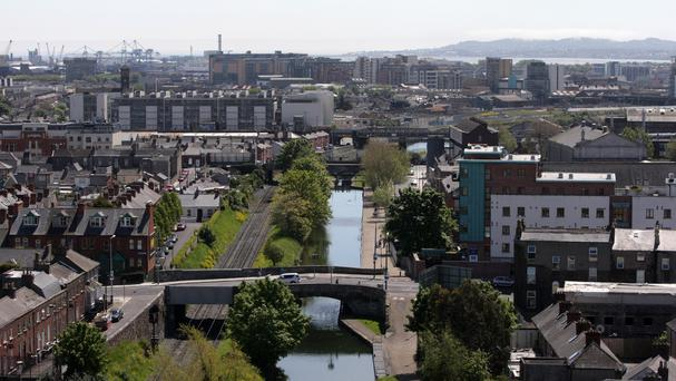 The Royal Canal features on the Dublin-Galway