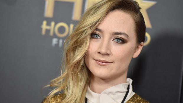 Saoirse Ronan at the Hollywood Film Awards in Beverly Hills, California (Jordan Strauss/Invision/AP)