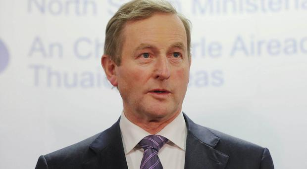 Enda Kenny made the investment announcements at a special event at the City Hall in Dublin