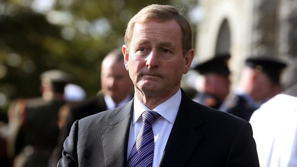 Enda Kenny expressed confidence in Attorney General Maire Whelan