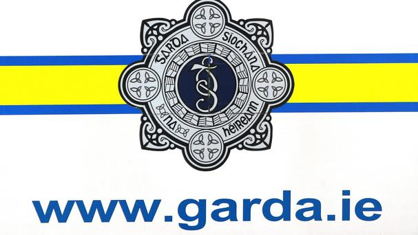 Gardai said the officer was assaulted with what is believed to be a bottle