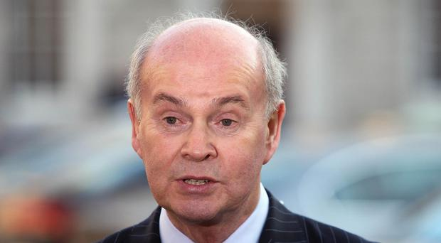 Pat Carey has stepped down from his position as director elections for Fianna Fail