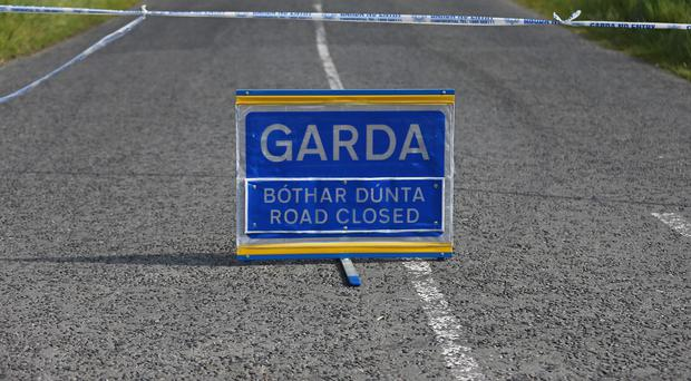 A man and woman died in the accident on the N13, Gardai said
