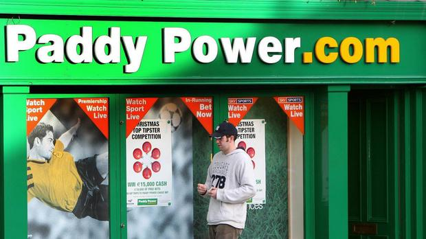 Paddy Power said online betting stakes jumped by 23% in the quarter