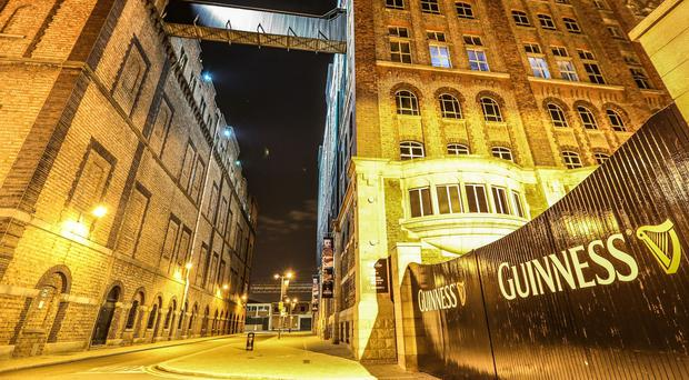 Guinness has opened its experimental brewery to the public