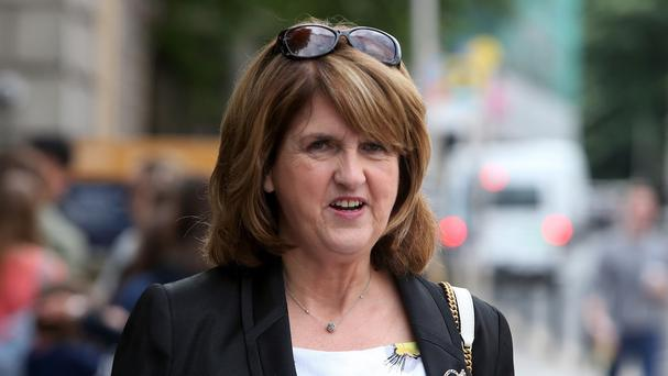 Tanaiste Joan Burton has been criticised over the Government's housing policy