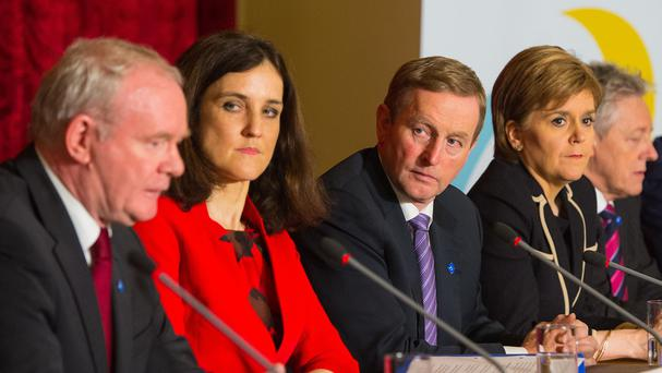 Enda Kenny was among those at the British Irish Council summit