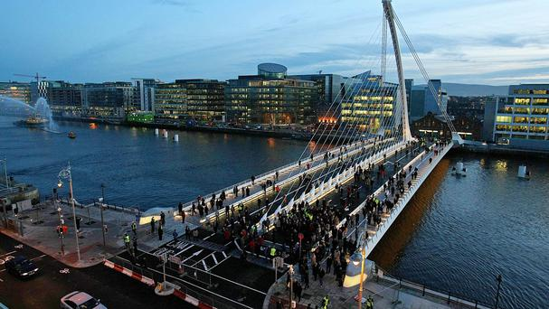 'John Moran told a Dublin Chamber of Commerce briefing that two companies who had looked at Ireland for investment switched to other countries due in part to the cost and shortage of office space here'