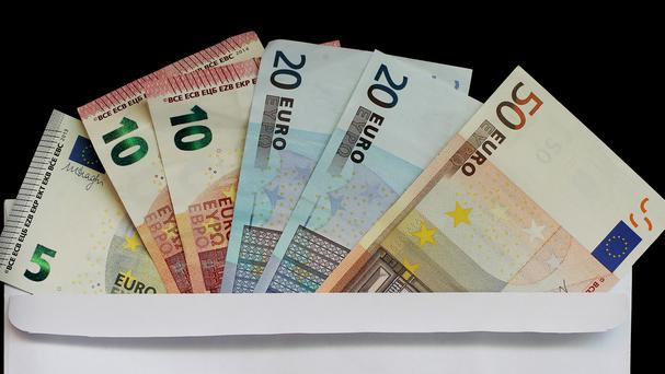 The 343 million euro surplus has been generated by higher than anticipated tax returns