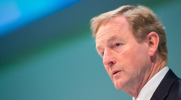 Enda Kenny pledged funds to help small businesses