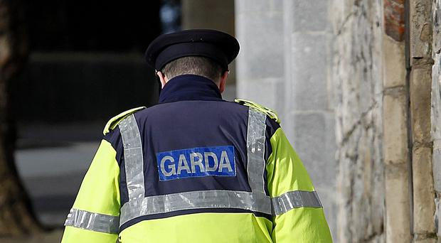 Garda officers arrested a suspect