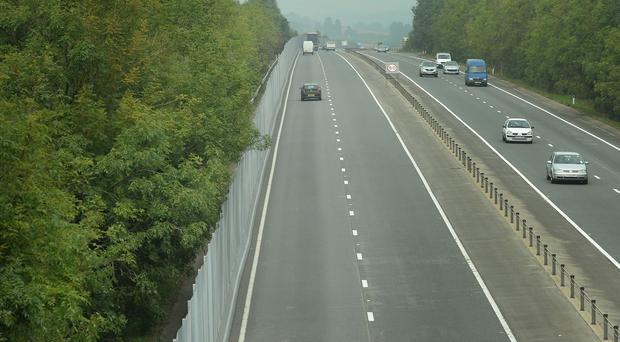 The crash happened on the M4 near Newport, South Wales