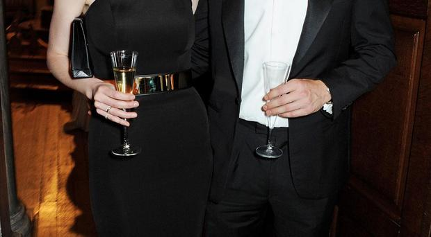 Actress Michelle Dockery and her fiance John Dineen, who died near his home in Co Cork earlier this week