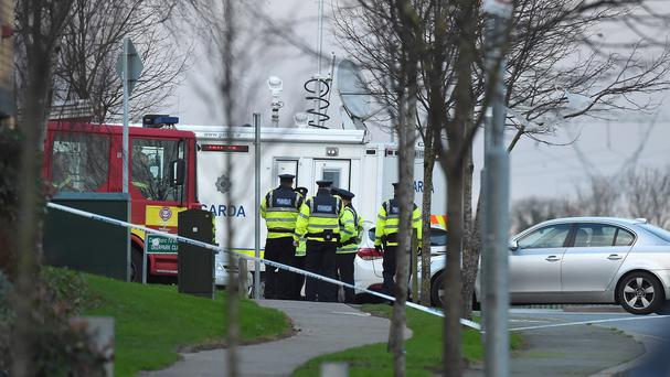 Gardai are at the scene in Tallaght
