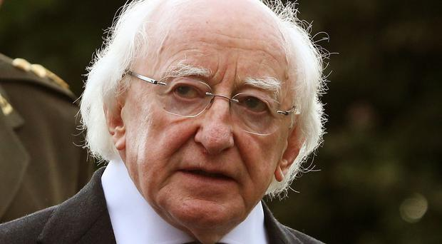 President Michael D Higgins says Ireland can empathise with the suffering of displaced people