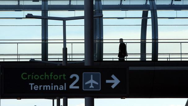 Terminal 2 at Dublin Airport was evacuated