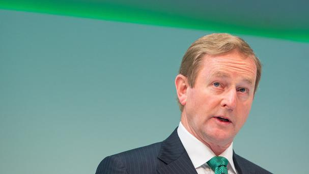 Enda Kenny intends to have equal numbers of men and women in his next cabinet if he retains power