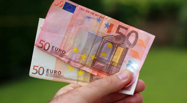 The Central Bank said 10.9 million euro worth of what it classed as