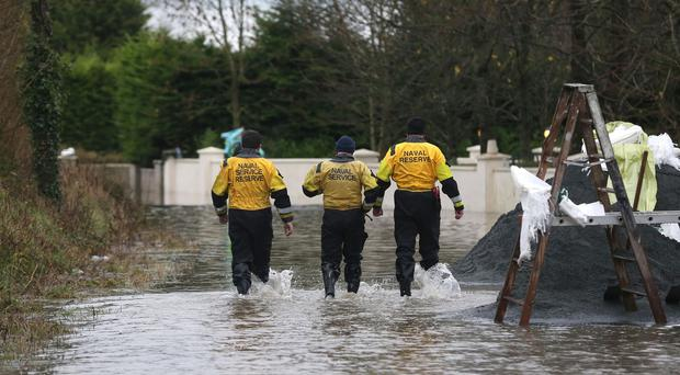 Flooding in the area of Clonlara in Co Clare