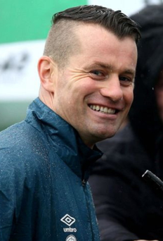 Father again: Shay Given