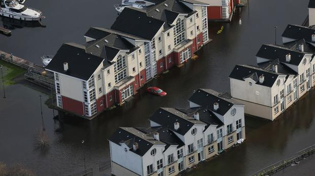 Dozens of families in Ireland were evacuated over the weekend